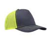 5-Panel Structured Poly/Cotton Front Mesh Back