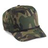 5 Pnl Camo Golf Cap w/Braid