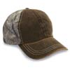 6 Pnl Weathered-Washed Cap w/