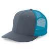 6 Pnl Trucker Cap, Twill/Mesh